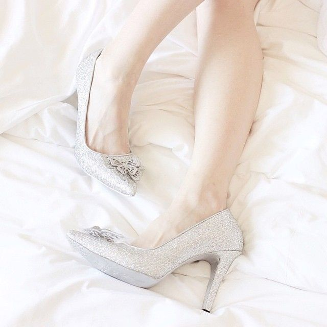 Waking up like a princess with our Sachlirene Cinderella shoes!  Have you got yours? #sachlirenecinderella