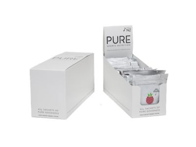 Pure Raspberry Sachet Display Box