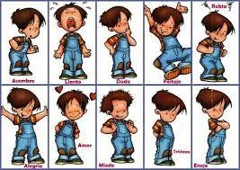 Resultado de imagen para dibujos de emociones