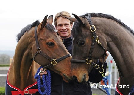 William Fox-Pitt with Cool Mountain and Lionheart. ABSOLUTELY love them!