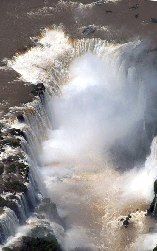 Garganta del Diablo - Cataratas del Iguazú - Argentina #cataratasarg