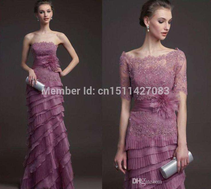 Purple color chart bridesmaid dresses
