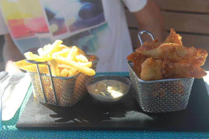 Fish and Chips, Le Meridien, Noumea, New Caledonia