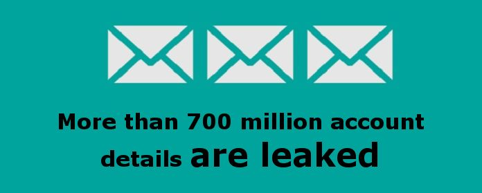 Change your email password now!  More than 700 million account details are leaked in the biggest spambot dump ever
