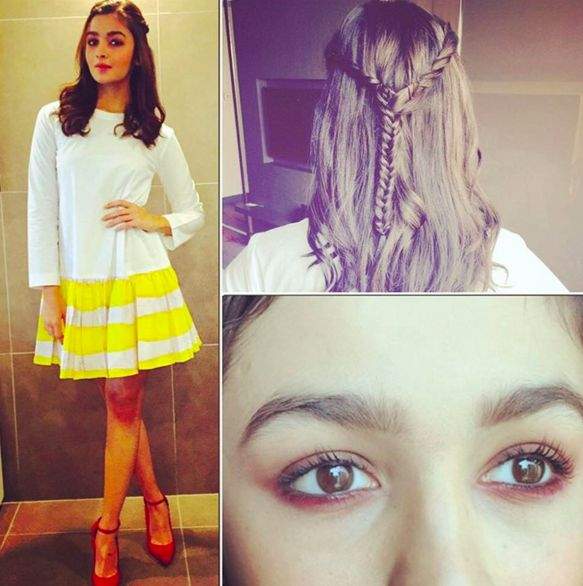 When she was all sunshine, daisies, butter mellow. | 18 Outfits Alia Bhatt Wore In 2015 That You'll Want To Steal