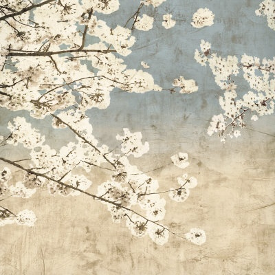 Cherry Blossoms II Print - a picture to wake up to