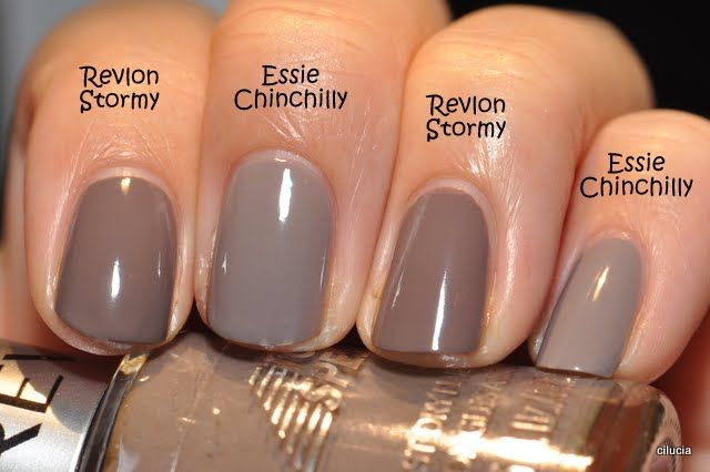 Several nail polish comparisons