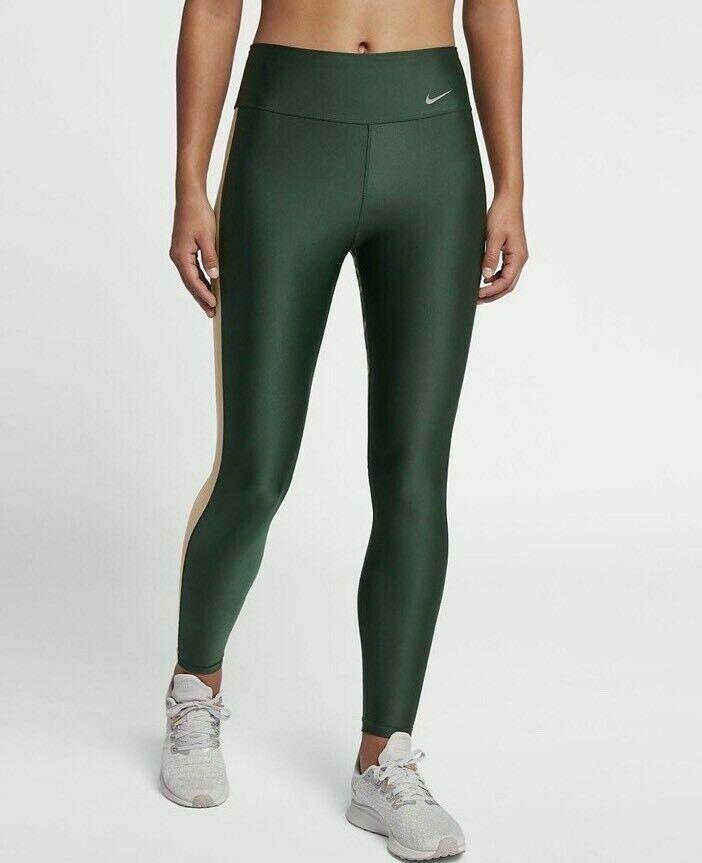 48f494ceea632f Nike Womens Dri Fit Training Tights Sz M Medium BQ8086 Camo Green  Camouflage #Nike