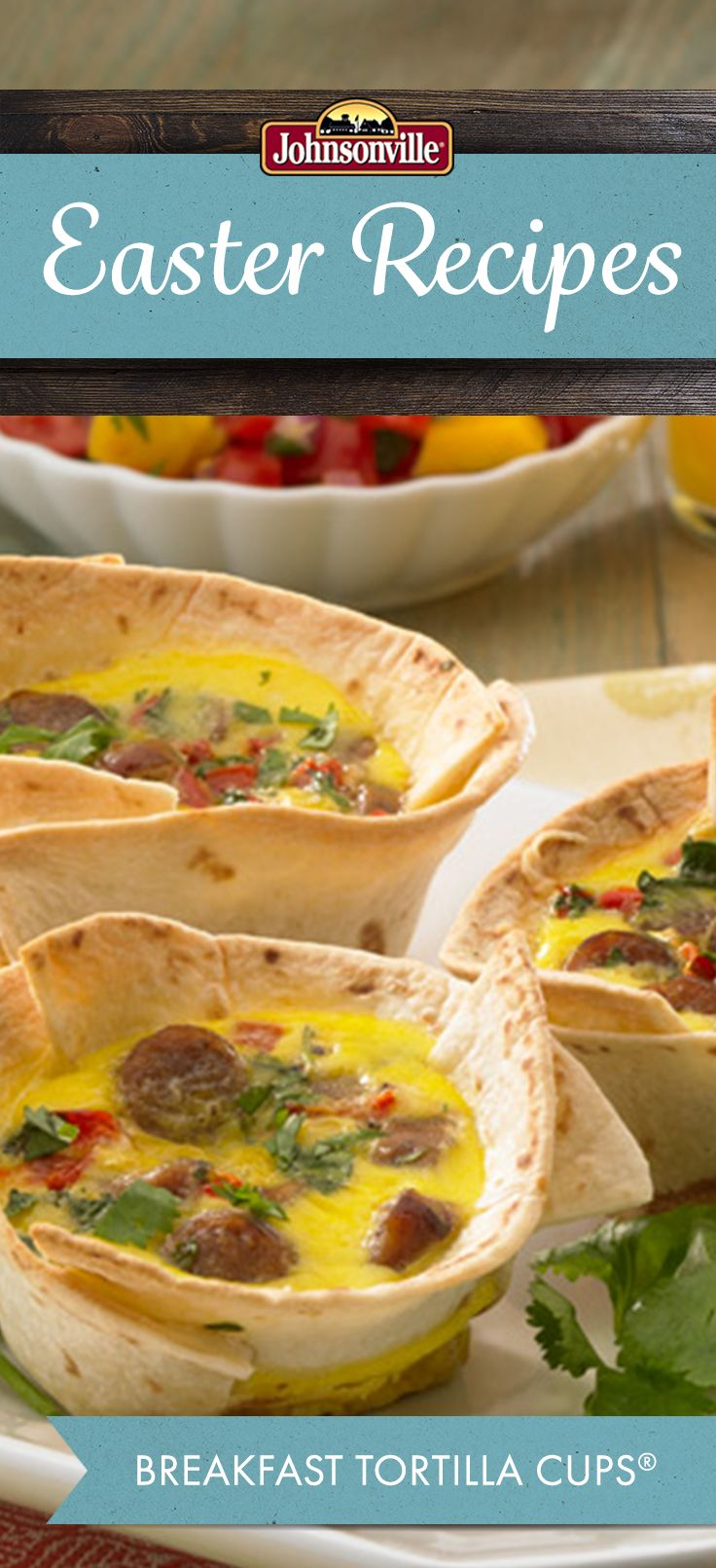 Whip these Breakfast Tortilla Cups up in 30 minutes or less! Everyone will love this perfectly portioned recipe.