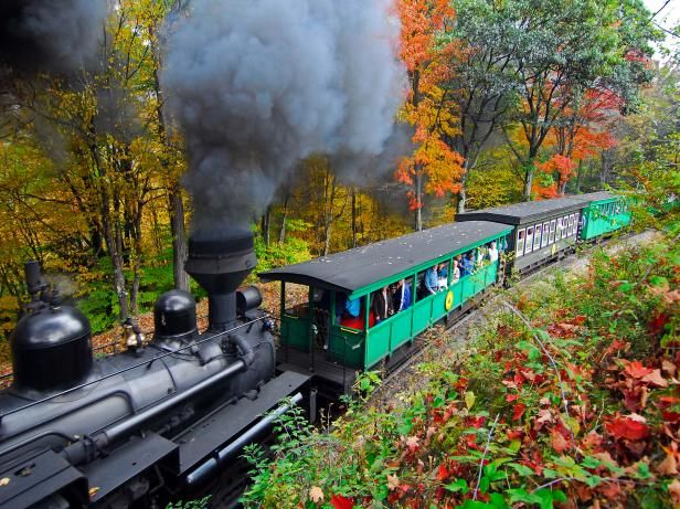 The 8 Most Scenic Train Rides in America | RV Travel, Camping, Festivals and Road Trips | GAC
