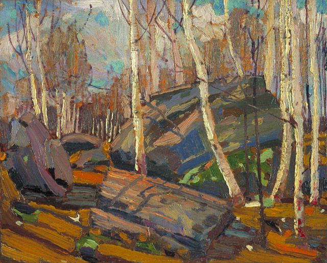 Tom Thomson Catalogue Raisonné | Spring, Spring 1916 (1916.69) | Catalogue entry