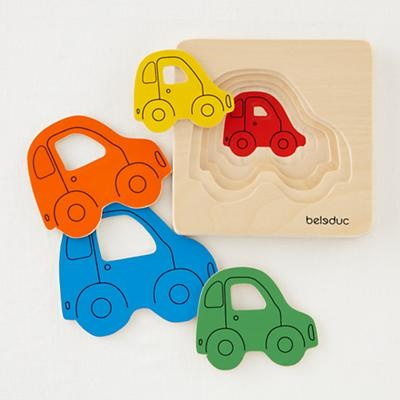 Kids Puzzle Games: Kids Layering Car Puzzle Game in Toys & Games