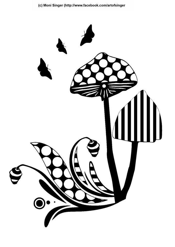 Silhouette plotter file free, Plotter Datei kostenlos, plotter freebie, Pilze, mushrooms