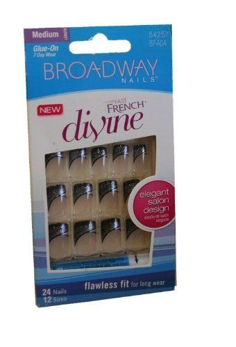 Broadway Fashion Diva Nails ~ 7 Day Wear (Medium, Fashion Diva Divine) * Check out the image by visiting the link.