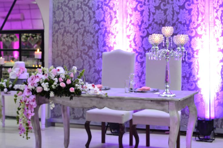 Mesa de novios. #Wedding #couple #weddingplanner