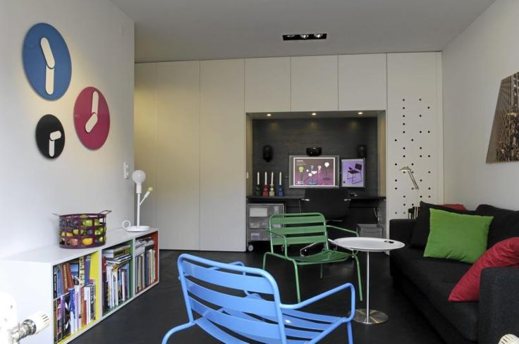 Compact and beautifully designed 36 m2 apartment.