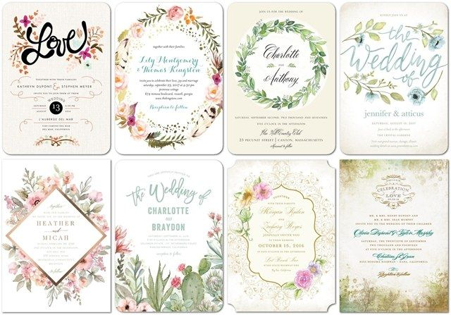 Wedding Divas Invitations Template: Top 8 Themed Shutterfly Wedding Invitations