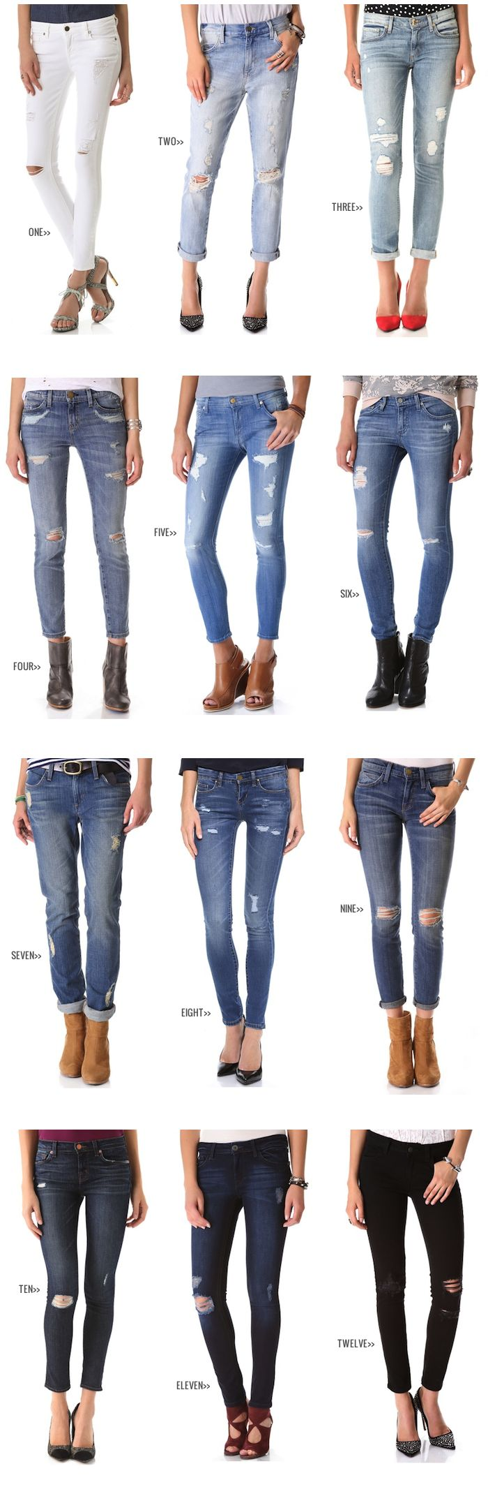 Fall Fashion :: Distressed Denim