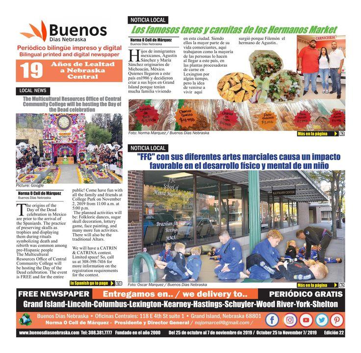 Periódico bilingüe Impreso y Digital Print and Digital