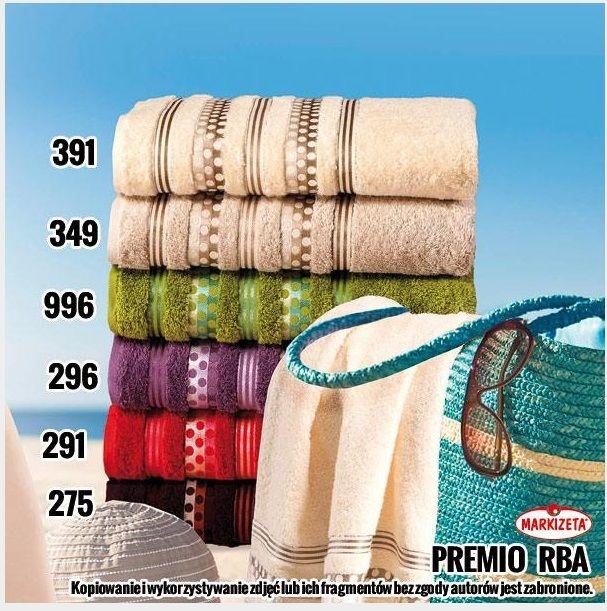 #komplety_Ręczników PREMIO kolor kremowy Markowy ręcznik z wysokiej jakości materiału.  Ręcznik bardzo chłonny, szybko wysycha przeznaczony do aktywnego korzystania.  Ręcznik posiada naturalne właściwości antybakteryjne i antyalergiczne.   Kolor: kremowy (391)  Rozmiar: 50 x 90 cm - 15,90 zł 70 x 140 cm - 35 zł kasandra.com.pl