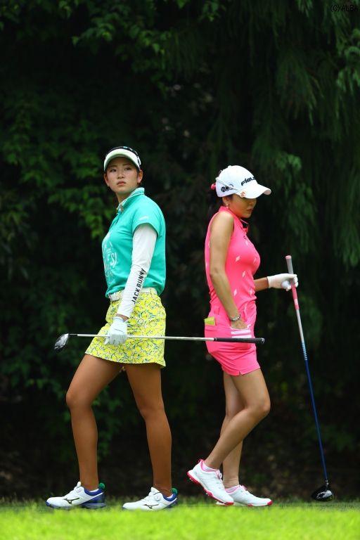 「金田久美子」の画像検索結果   女子ゴルフ, 女子 プロ ゴルフ