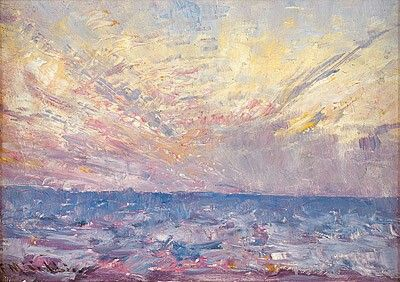 Setting Sun - Frederick McCubbin