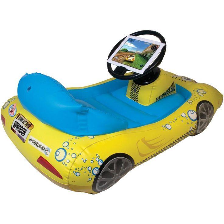 Cta Digital Ipad With Retina Display And Ipad 3rd Gen And Ipad 2 Spongebob Squarepants Inflatable Sports Car