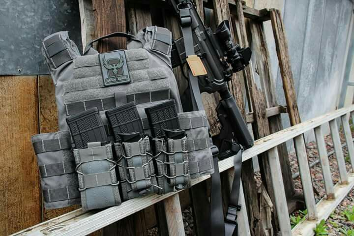 Rifle and Plate Carrier Gear up! Pinterest Rifles