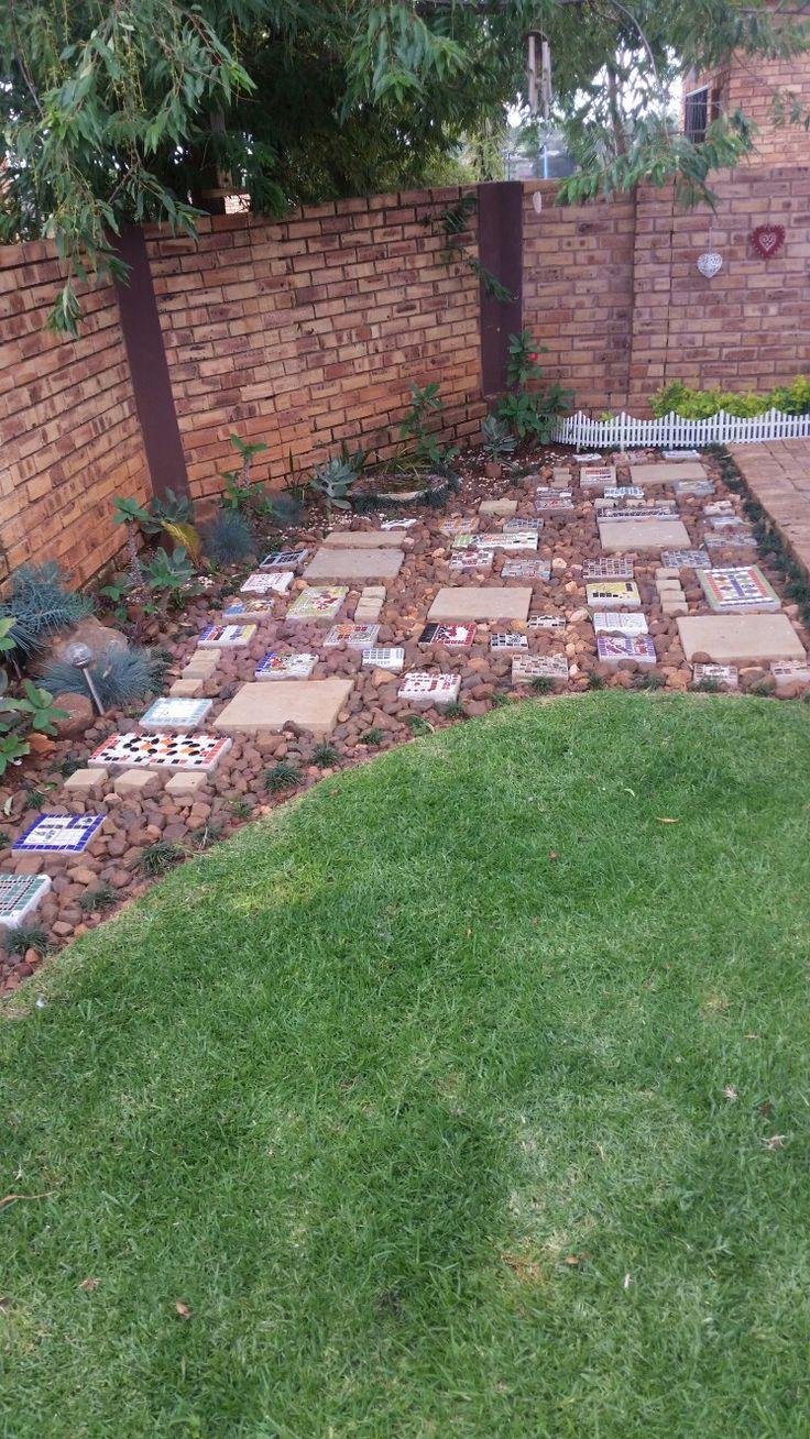 Steppingstone garden.