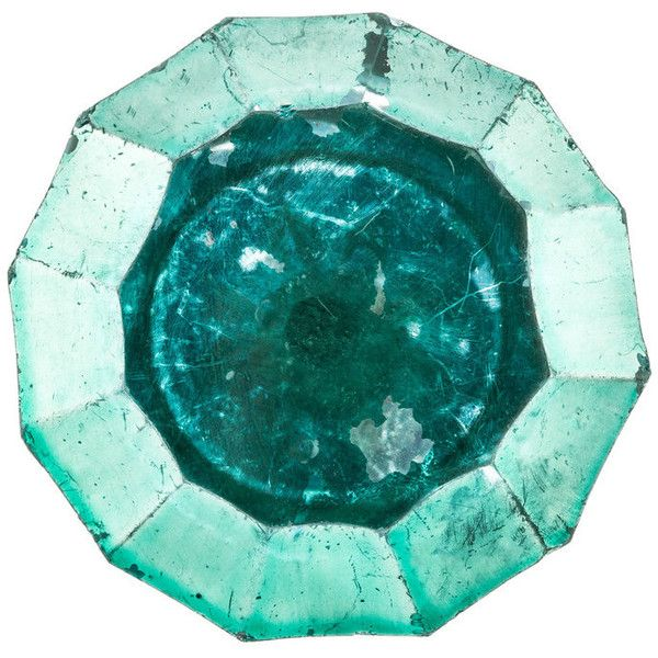 Round Aqua Green Faceted Knob ($3) ❤ liked on Polyvore featuring home, home decor, decorative hardware, green home decor, round knob, green home accessories, aqua home decor and aqua home accessories