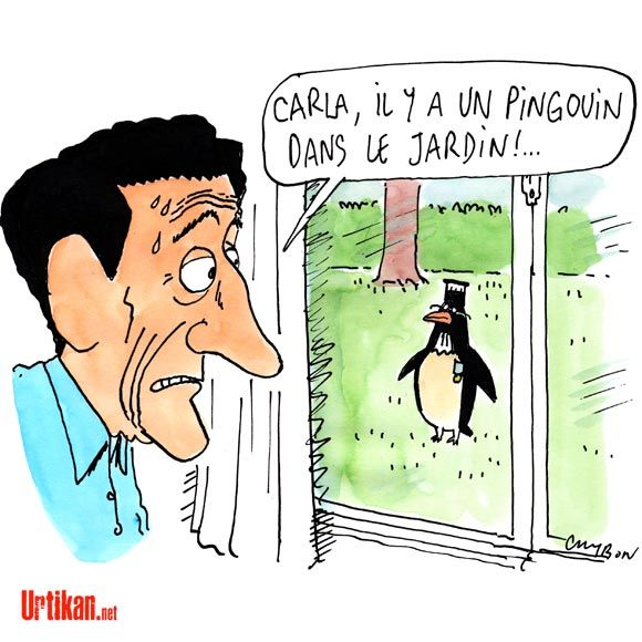 Mise en examen de Nicolas Sarkozy: indépendance de la justice ou juge partial? - Dessin du jour - Urtikan.net