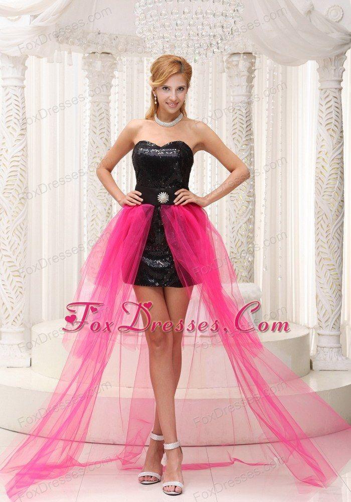 hot pink high low prom dress wwwpixsharkcom images