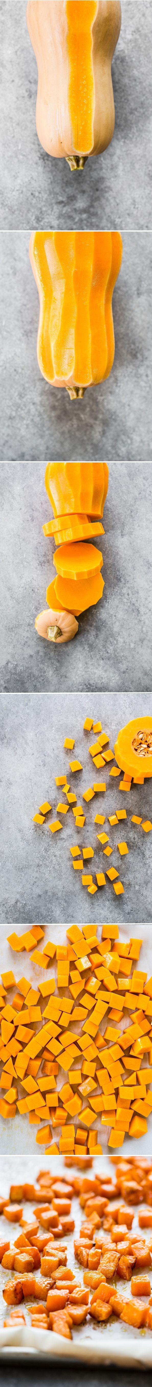 A Simple Roasted Butternut Squash Salad - My all time favorite way to prepare butternut squash (you'll want to eat it straight from the pan!).