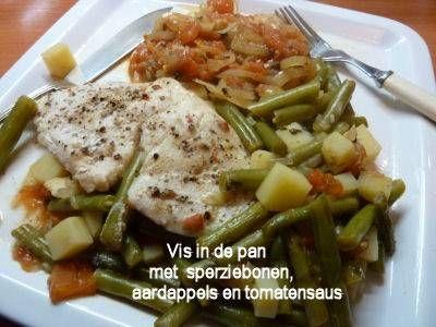 Vis in de pan (een grieks recept - psari plaki)
