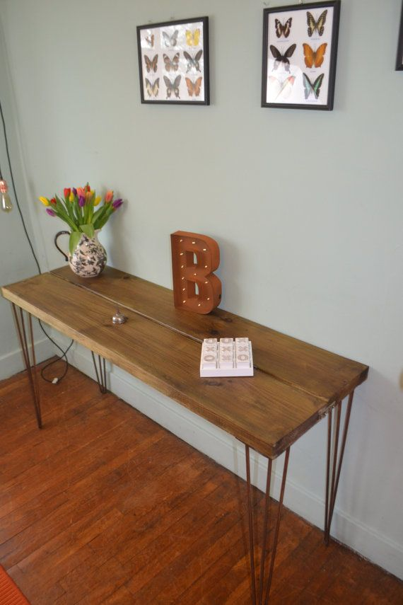Industrial Console table G-plan Mid Century Modern Here we have a Stunning handmade console table It is made from quality Wood that has
