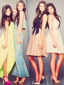 the jenner girls. super stylish