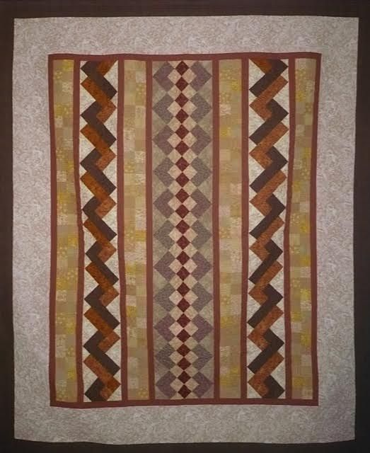 Bed Quilt with Seminole