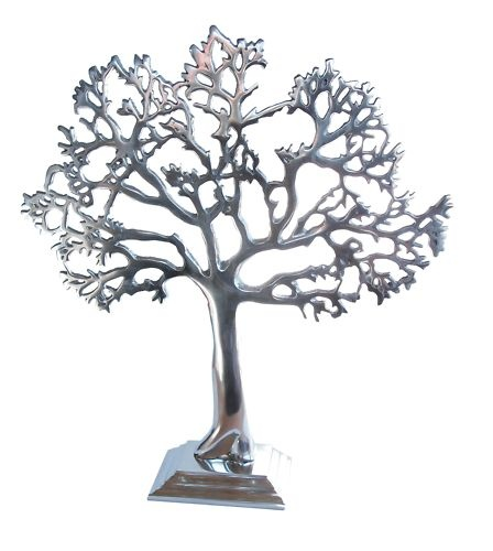 New Tree of life, jewellery stand, Silver finish, art, great gift idea