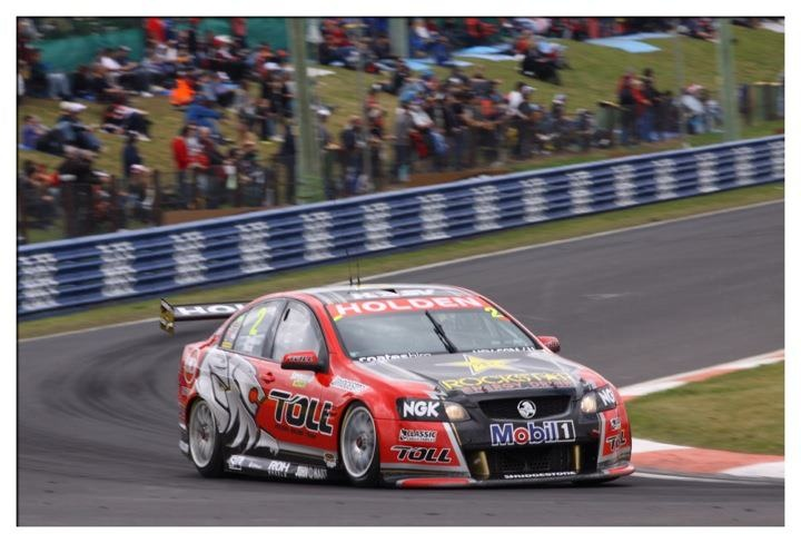 Garth Tander and Nick Percat in 2011 Bathurst victory.