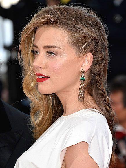 10 Unforgettable Cannes Film Festival Braids: Amber Heard