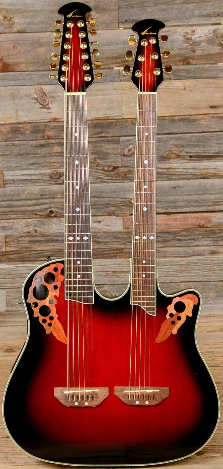 824 best guitars images on pinterest tools guitar building and double neck ovation six and twelve string guitar cheapraybanclubmaster Images