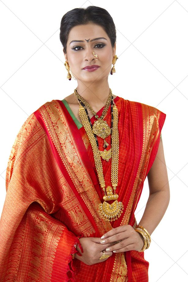 Traditional Mohanmaal With Pendant Jewels Of Maharashtra