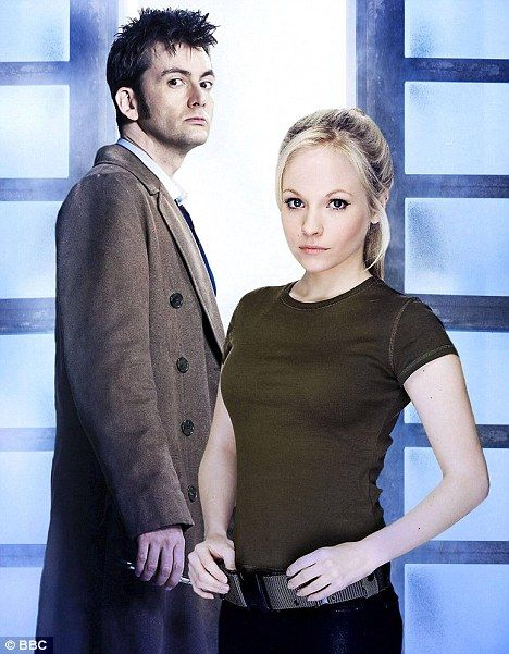 Dr Who David Tennant | Met on set: The couple met in May 2008 when Moffett played his daughter but now in reality is now his wife