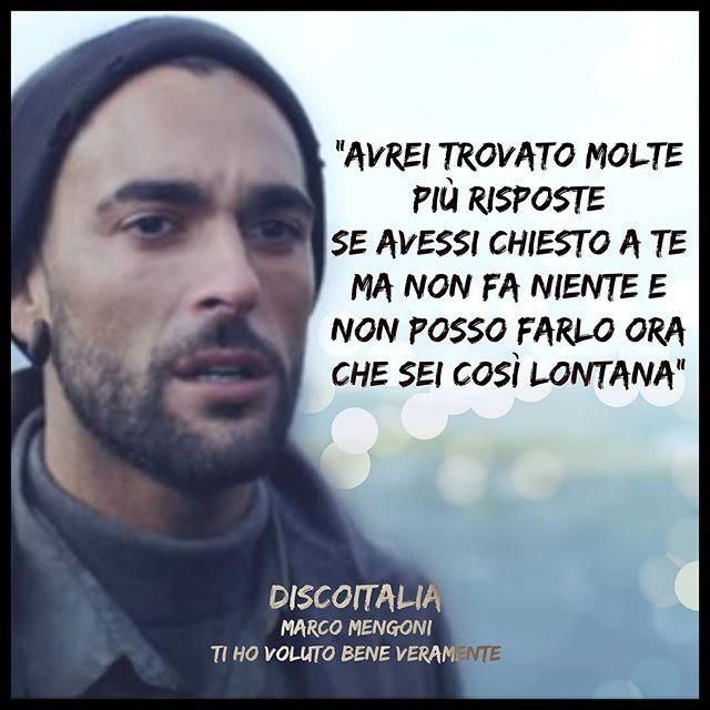 """Marco Mengoni Ti ho voluto bene veramente testo #DiscoItalia di questa settimana su #RadioItalia: """"Ti ho voluto bene veramente"""" di @mengonimarcoofficial @sonymusicitaly"""