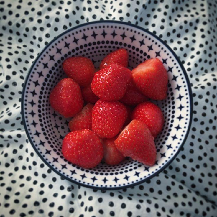 Geen taartje, maar ook rond en lekker- Aardbeien - Utrecht