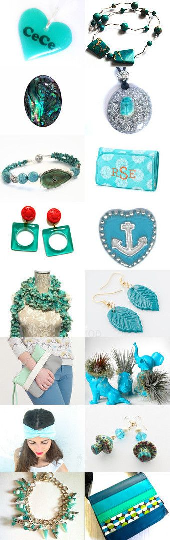 ♥ Love in Turquoise ♥ by Gabbie on Etsy