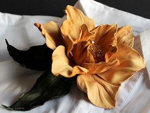 "innscurt — «цветок из кожи ""Gulj""» на Яндекс.Фотках"
