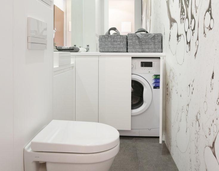 Małe łazienki - tak je urządzisz w bieli. 12 projektów  - zdjęcie numer 1