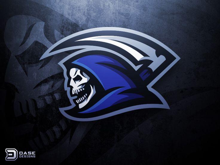 Reaper Mascot Logo by Derrick Stratton