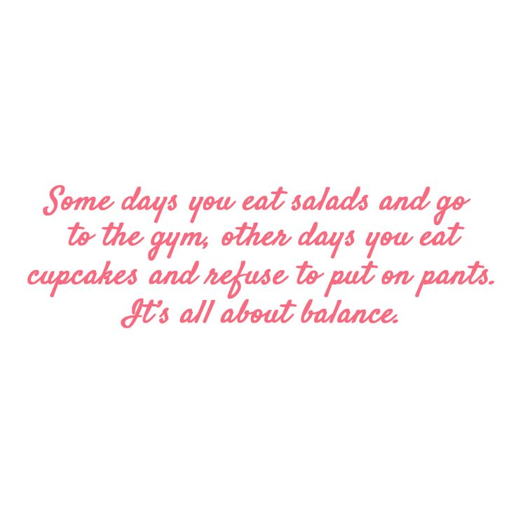 "We hope your long weekend is filled with ""balance""! #rubyfranksays"